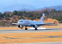 ふじいあきらさんが、広島空港で撮影した香港ドラゴン航空 A320-232の航空フォト(写真)
