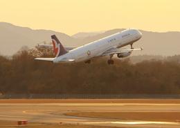 広島空港 - Hiroshima Airport [HIJ/RJOA]で撮影されたマカオ航空 - Air Macau [NX/AMU]の航空機写真