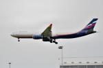 tsubasa0624さんが、成田国際空港で撮影したアエロフロート・ロシア航空 A330-343Xの航空フォト(写真)