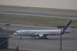 airdrugさんが、香港国際空港で撮影したネパール航空 757-2F8Cの航空フォト(飛行機 写真・画像)