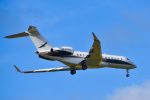 パンダさんが、成田国際空港で撮影した華捷商務航空 BD-700-1A10 Global Expressの航空フォト(飛行機 写真・画像)