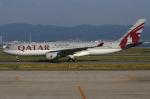 つみネコ♯2さんが、関西国際空港で撮影したカタール航空 A330-202の航空フォト(写真)