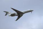 サボリーマンさんが、松山空港で撮影した国土交通省 航空局 BD-700-1A10 Global Expressの航空フォト(飛行機 写真・画像)