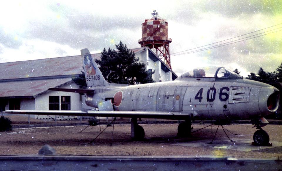 チャーリーマイクさんの航空自衛隊 North American F-86 Sabre (52-7406) 航空フォト