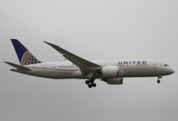 AKさんが、成田国際空港で撮影したユナイテッド航空 787-8 Dreamlinerの航空フォト(飛行機 写真・画像)