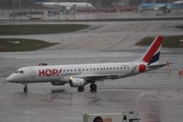 cassiopeiaさんが、フランクフルト国際空港で撮影したエールフランス・オップ! ERJ-190-100 LR (ERJ-190LR)の航空フォト(飛行機 写真・画像)