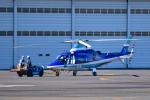 パンダさんが、東京ヘリポートで撮影した日本デジタル研究所(JDL) A109E Powerの航空フォト(写真)