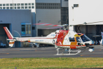 パンダさんが、東京ヘリポートで撮影した朝日航洋 AS355F2 Ecureuil 2の航空フォト(写真)