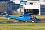 パンダさんが、東京ヘリポートで撮影した警視庁 A109E Powerの航空フォト(飛行機 写真・画像)