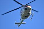 パンダさんが、東京ヘリポートで撮影した朝日航洋 412の航空フォト(飛行機 写真・画像)