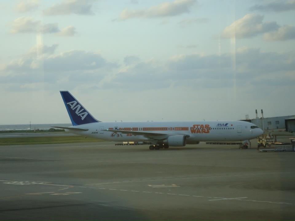kenmariさんの全日空 Boeing 767-300 (JA604A) 航空フォト