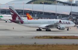 Koenig117さんが、関西国際空港で撮影したカタール航空 A330-202の航空フォト(飛行機 写真・画像)