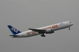 森太郎さんが、伊丹空港で撮影した全日空 767-381/ERの航空フォト(飛行機 写真・画像)