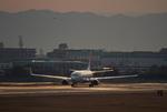 しゅあさんが、伊丹空港で撮影したJALエクスプレス 737-846の航空フォト(写真)