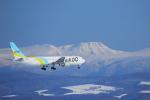 ちょっきんさんが、旭川空港で撮影したAIR DO 767-381の航空フォト(写真)