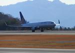 ふじいあきらさんが、広島空港で撮影したユナイテッド航空 737-824の航空フォト(写真)