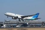 mogusaenさんが、成田国際空港で撮影したガルーダ・インドネシア航空 A330-243の航空フォト(飛行機 写真・画像)