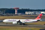 パンダさんが、成田国際空港で撮影したトランスアジア航空 A330-343Xの航空フォト(飛行機 写真・画像)