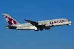 RUSSIANSKIさんが、スワンナプーム国際空港で撮影したカタール航空 A380-861の航空フォト(飛行機 写真・画像)