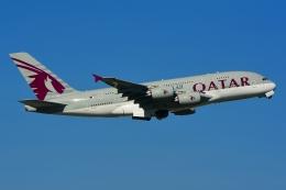 RUSSIANSKIさんが、スワンナプーム国際空港で撮影したカタール航空 A380-861の航空フォト(写真)