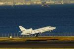 うめやしきさんが、羽田空港で撮影したアエロサービスエグゼクティブ Falcon 900の航空フォト(飛行機 写真・画像)