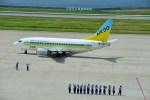 T.Sazenさんが、神戸空港で撮影したAIR DO 737-54Kの航空フォト(飛行機 写真・画像)