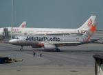 ハピネスさんが、香港国際空港で撮影したジェットスター・パシフィック A320-232の航空フォト(飛行機 写真・画像)
