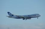 北の熊さんが、新千歳空港で撮影した日本貨物航空 747-8KZF/SCDの航空フォト(写真)