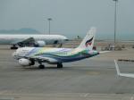ハピネスさんが、香港国際空港で撮影したバンコクエアウェイズ A319-132の航空フォト(飛行機 写真・画像)