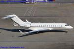 Chofu Spotter Ariaさんが、羽田空港で撮影したユタ銀行 BD-700-1A11 Global 5000の航空フォト(飛行機 写真・画像)