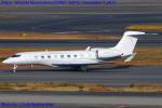 Chofu Spotter Ariaさんが、羽田空港で撮影したウェルズ・ファーゴ・バンク・ノースウェスト G650 (G-VI)の航空フォト(写真)