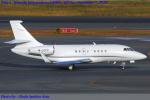 Chofu Spotter Ariaさんが、羽田空港で撮影したマン島企業所有 Falcon 2000の航空フォト(飛行機 写真・画像)