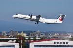 パンダさんが、宮崎空港で撮影した日本エアコミューター DHC-8-402Q Dash 8の航空フォト(飛行機 写真・画像)