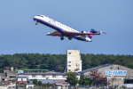 パンダさんが、宮崎空港で撮影したアイベックスエアラインズ CL-600-2C10 Regional Jet CRJ-702の航空フォト(飛行機 写真・画像)