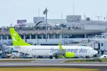 パンダさんが、宮崎空港で撮影したソラシド エア 737-86Nの航空フォト(飛行機 写真・画像)