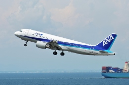 TAOTAOさんが、中部国際空港で撮影した全日空 A320-214の航空フォト(飛行機 写真・画像)