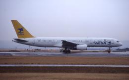 kumagorouさんが、仙台空港で撮影したTAESA 757-2Y0の航空フォト(飛行機 写真・画像)