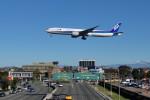 Cimarronさんが、ロサンゼルス国際空港で撮影した全日空 777-381/ERの航空フォト(写真)