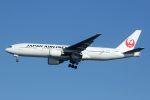 hiroki_h2さんが、羽田空港で撮影した日本航空 777-246の航空フォト(写真)