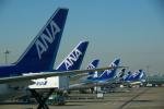 JA8037さんが、羽田空港で撮影した全日空 777-281の航空フォト(飛行機 写真・画像)