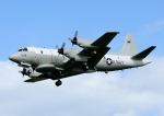 じーく。さんが、嘉手納飛行場で撮影したアメリカ海軍 P-3C Orionの航空フォト(写真)