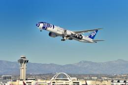 Cimarronさんが、ロサンゼルス国際空港で撮影した全日空 787-9の航空フォト(飛行機 写真・画像)