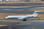パンダさんが、成田国際空港で撮影したウェルズ・ファーゴ・バンク・ノースウェスト G-V-SP Gulfstream G550の航空フォト(写真)