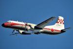 うめやしきさんが、厚木飛行場で撮影した航空自衛隊 YS-11-105FCの航空フォト(飛行機 写真・画像)