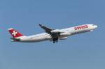 mogusaenさんが、成田国際空港で撮影したスイスインターナショナルエアラインズ A340-313Xの航空フォト(飛行機 写真・画像)