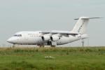 バーバ父さんが、パリ シャルル・ド・ゴール国際空港で撮影したシティジェット Avro 146-RJ85の航空フォト(写真)