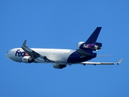 aquaさんが、関西国際空港で撮影したフェデックス・エクスプレス MD-11Fの航空フォト(飛行機 写真・画像)