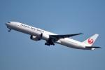 tsubasa0624さんが、羽田空港で撮影した日本航空 777-346/ERの航空フォト(飛行機 写真・画像)
