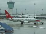 金魚さんが、ミュンヘン・フランツヨーゼフシュトラウス空港で撮影したプライベートエア 737-7CN BBJの航空フォト(飛行機 写真・画像)