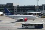 バーバ父さんが、フランクフルト国際空港で撮影したスカンジナビア航空 737-683の航空フォト(写真)